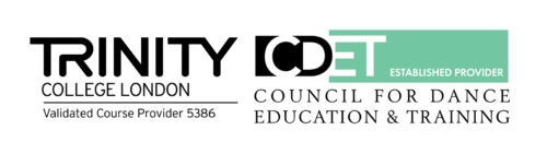 Validated by Trinity College London & The Council for Dance Education and Training